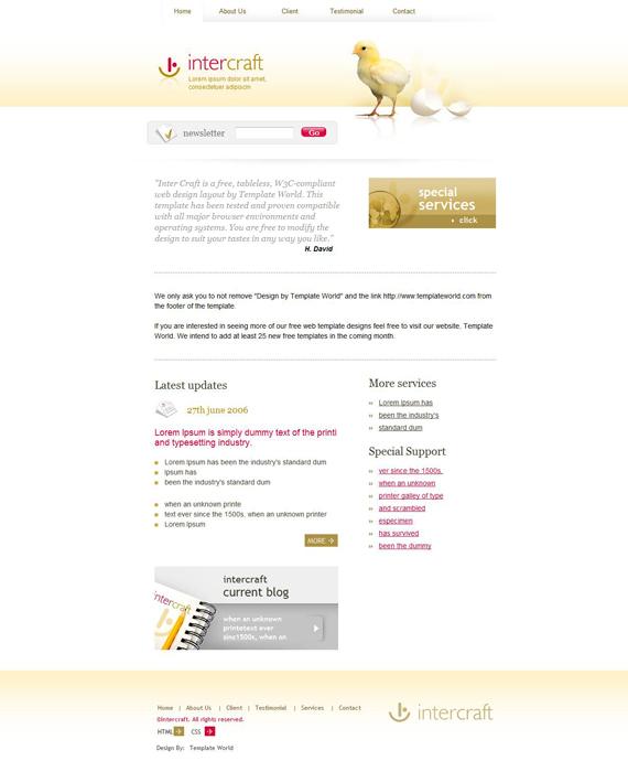 Plantillas Web Gratis 1 – DobleClic Estudio de Vídeo y Diseño
