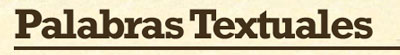 palabras textuales