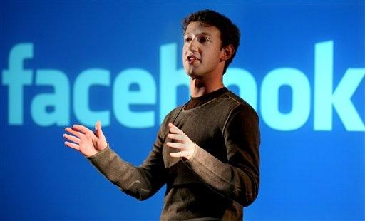 Mark Zukerberg Creador de Facebook