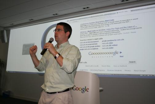SEO Matt Cutts Google