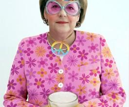 Angela Merkel Hippie