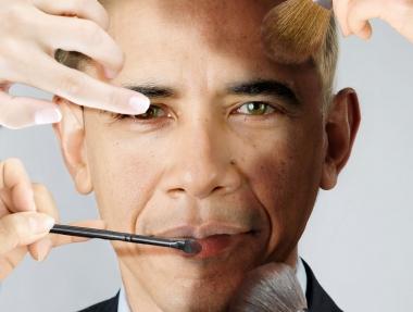 Barack Obama Blanco