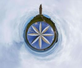 Panorámica Polar Torre de Hércules