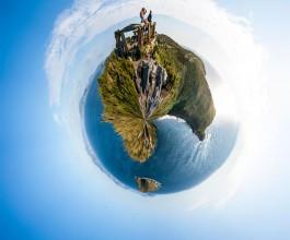 Panorámica Polar Islas Ons