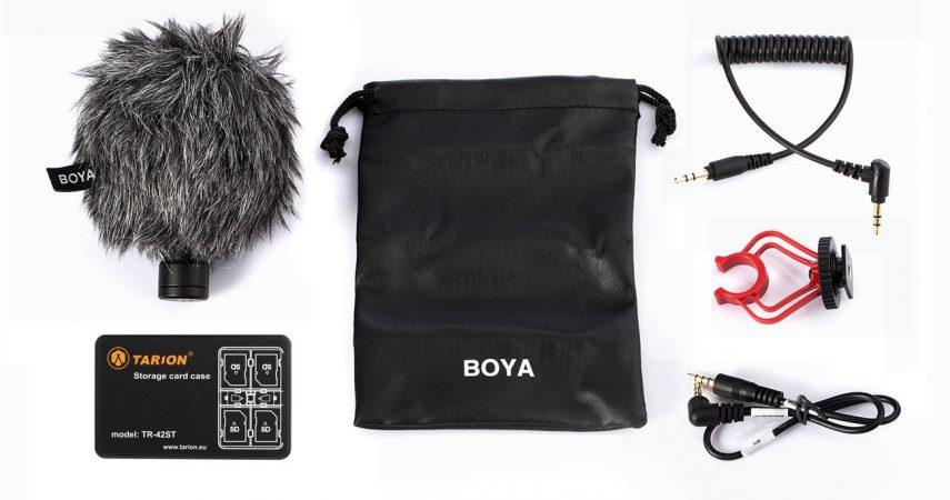 Boya BY-MM1 Micrófono Cámara DSLR Teléfono Móvil