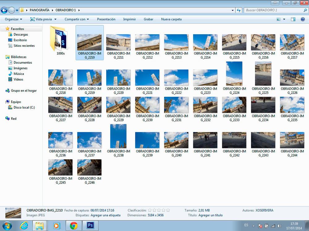 Cómo crear una fotografía panográfica