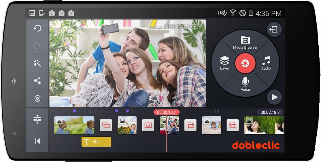 Las 5 Mejores Apps Para Editar Vídeo Desde El Móvil Gratis Dobleclic Estudio De Vídeo Y Diseño