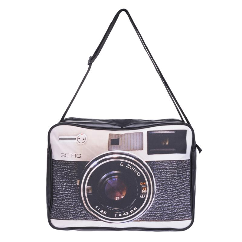 Bolso Bandolera de Diseño Vintage Cámara fotográfica antigua